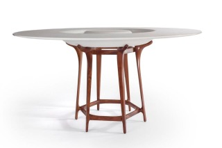 Doug Bucci table made for Staack Moore Woodworking