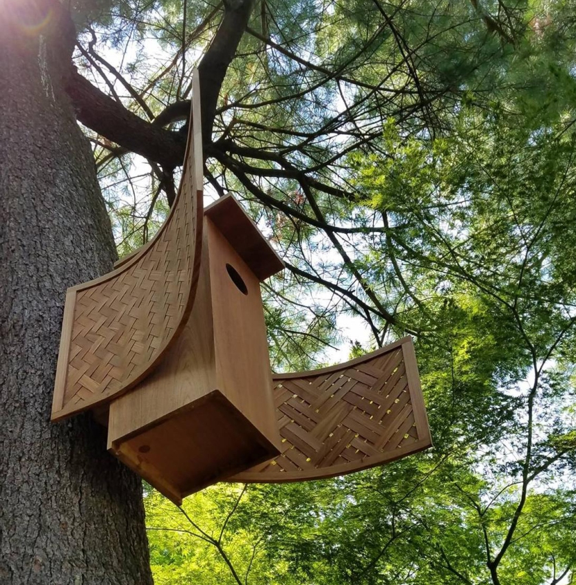 Duck house for Fairmount Park Conservancy's Meadow Mansion exhibit
