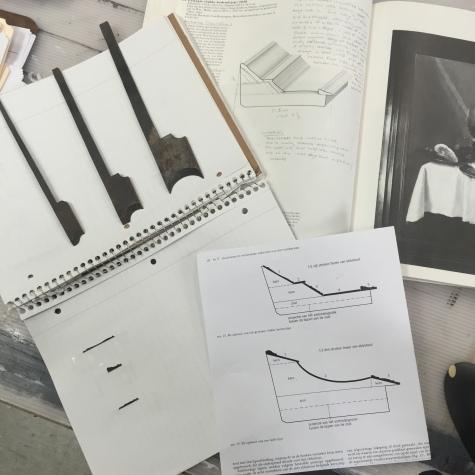 Research, 17C Dutch ebony frame